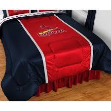 st louis cardinals bedroom decor fresh mlb cardinals bedding st louis forters baseball bed set