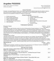 Fitness Instructor Resume Magnificent Fitness Trainer Resume Excellent Best And Personal Example Cv Sample