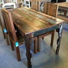 elegant reclaimed wood tables 6 ideas