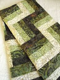 Best 25+ Batik quilts ideas on Pinterest   Quilting ideas, Stained ... & This quilt was created using the rail fence block and then surrounded by  three borders. Such a great quilt ... Adamdwight.com