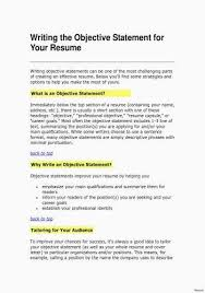 Career Objective For Resume Simple Sample Career Objective For Resume Awesome Writing An Engineering