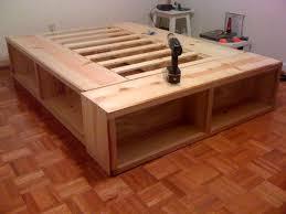 amazing diy platform bed with storage 25 best