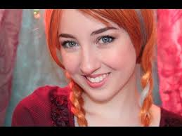 disney s frozen anna makeup tutorial