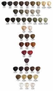 Ice Cream Hair Dye Colour Chart Salon Professional Organic Based Traditional Hair Colour