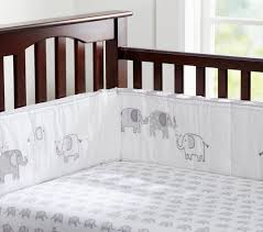 trendy taylor organic nursery bedding grey elephant baby bedding