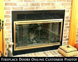 glass fireplace inserts insert doors a electric front boulevard linear gas safety in boul