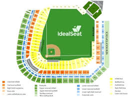 sloan park seating chart seat numbers at t with field rows and best of maps map