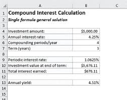 daily interest calculator excel image described by surrounding text figure using a single
