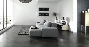 Tile flooring living room Style Trendir Are Black Tile Floors Mistake