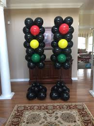 Balloon Stop Light Stop Light Balloon Column Cars Birthday Parties Disney
