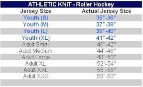 K1 Hockey Jersey Size Chart Toddler Hockey Jersey Size Chart Best Picture Of Chart