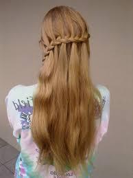 Teen Girl Hair Style waterfall braid teenage hairstyles for teen girl 6285 by wearticles.com