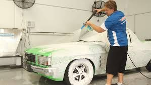 snow foam should be left to sit for three to four minutes to break down any grime that can scratch the paint surface during the wash