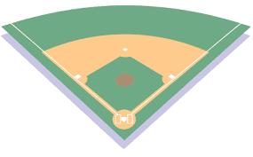 Baseball Field Diagram Fillable Fill In Baseball Field Template Clipart Best