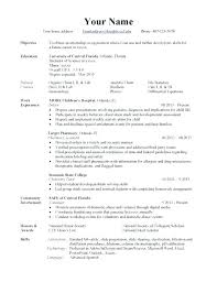 Bistrun Resume Format Types Different Resume Formats Four Types