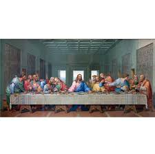 large classic oil painting picture famous painting the last supper leonardo da vinci oil painting on