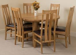 round extendable dining table 6 chairs