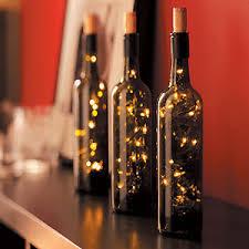 Decorative Wine Bottles With Lights DIY Decor Making Lighted Wine Bottles Aqualux Carpet 25