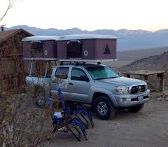 Two roof top tents installed on the same Toyota Tacoma truck. www ...