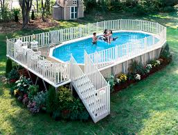 above ground pool deck kits. Oval Above Ground Pool Deck Plans Above Ground Pool Deck Kits