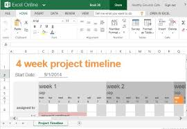 Free Project Timeline Template Project Timeline Template In Excel Printable Schedule Template