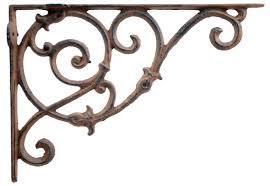 ornate cast iron curly fl vine