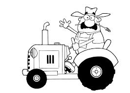 Tractor Met Aanhanger Tekening Tropicalweather
