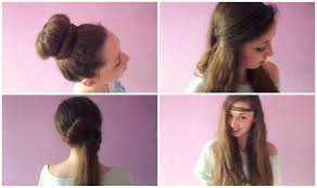 Simple Hairstyles For College Simple Hairstyle For Girls For College Quick Hairstyle For College