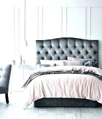 Velvet Tufted Bed Velvet Tufted Bedroom Set Grey Tufted Bed New Grey ...