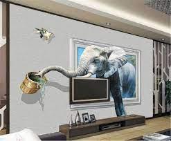 Custom Digital Print HD Wallpaper 3D ...