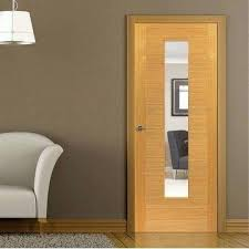 interior clear glass door. Clear Glass Interior Door Flush Oak Veneered With Safety Is Finished Sliding W