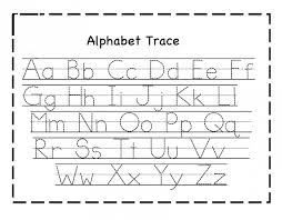 Free Letter Tracing Worksheets PDf Printable for Toddlers ...