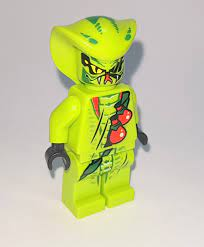 Gurus Baustein Tempel - LEGO NINJAGO Figur Schlange Lasha Set 9562 9477  Ninja