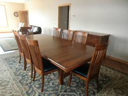 110 x 48 Inch Montreal Table Lancaster Chairs and Lancaster Sideboard in  Antique Cherry