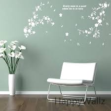 wall decals 3d with flowers wall sticker beautiful flower wall decal decorating flower es wall decors