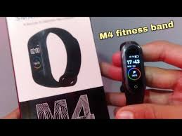 <b>M4 Smart Band</b> Unboxing & Quick Review of M4 Watch in Urdu ...
