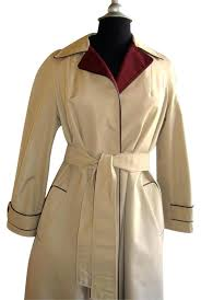 burdy trench coat size l trench coat burdy trench coat