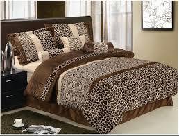 decoration leopard print bedding queen