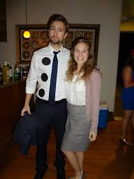 halloween ideas for the office. three whole punch jim and pam from the office halloween couples costume ideas for
