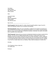 Example Of Simple Cover Letters How To Write A Simple Cover Letter For A Resume Barraques Org