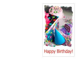 Birthday Card Template Word Gangcraft Net