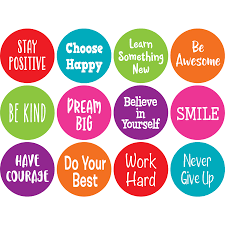 Spot On Positive Sayings Carpet Markers 4