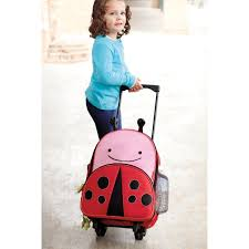 skip hop zoo pack little kid ladybug luggage