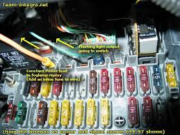 help wiring fog light switch team integra forums team integra what i need is something to connect to the fuse box like this so what do i need