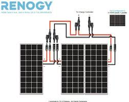 renogy 300 watt 12 volt monocrystalline solar bundle kit top Renogy Wiring Diagram Renogy Wiring Diagram #97 renogy wiring diagrams