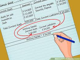 Net Working Capital Formula How To Calculate Working Capital With Calculator Wikihow