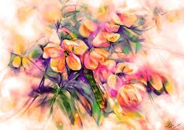 feelings of beautiful flowers