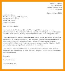 New Cna Cover Letter Cover Letters For Resume From Cover Letter