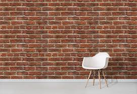 old red brick wallpaper texture