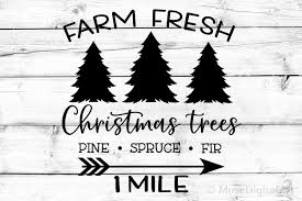 You have found all of our free christmas svg cutting files. Farm Fresh Christmas Trees Svg Farmhouse Svg Christmas Svg 361752 Svgs Design Bundles